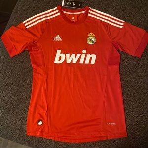 Real Madrid Ronaldo Soccer jersey Red and white